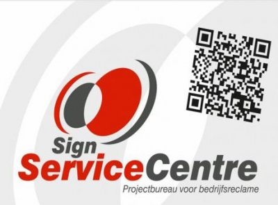 Logo Sponsor Sign service centre