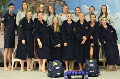 Foto WaterpoloTeam Dames 1
